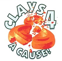 Clays for a cause logo